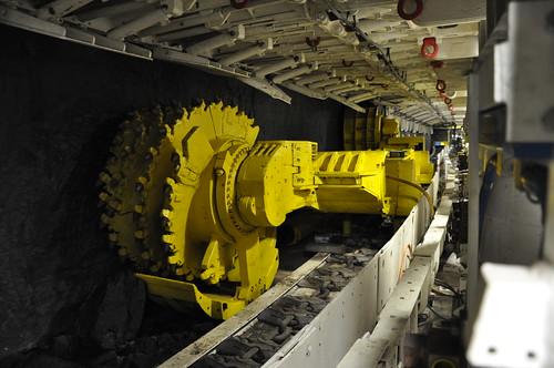 From flickr.com: Longwall coal mining equipment {MID-147493}