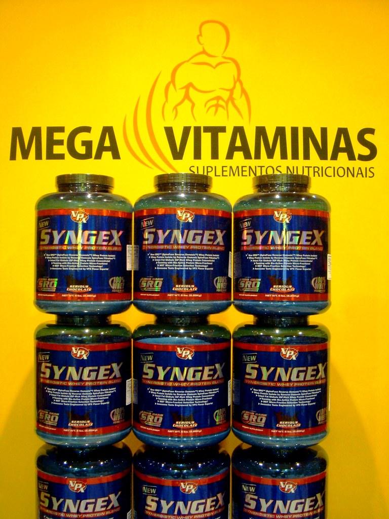 Chegou Syngex da VPX - Blend de Whey Protein sem carboidratos e excelente sabor!
