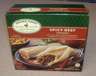 Target's Spicy Beef Tamales