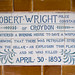 Watts Memorial - Robert Wright