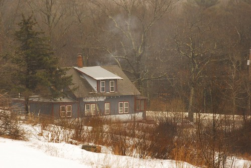 The Homestead In Late Winter