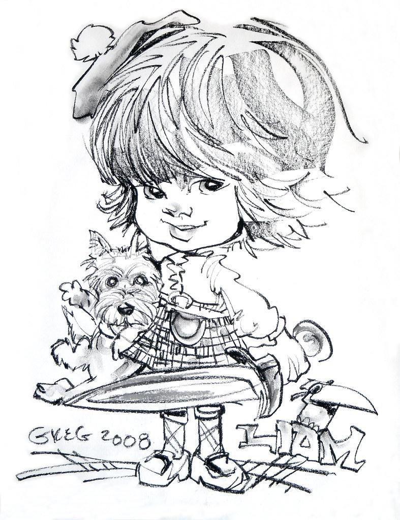 Liam Caricature