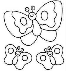Borboletas (Lucia Helena Cesar) Tags: borboletas riscos moldes patchcolagem
