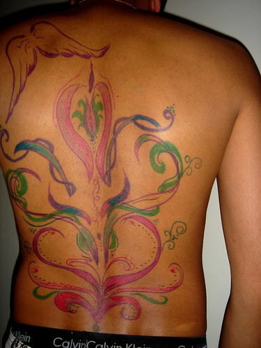 temporary tattoo in the body<br />tattoo removal made easy