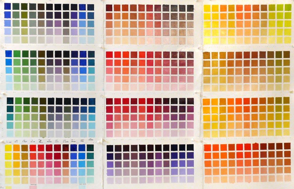 Как сделать на палитре цвет 645
