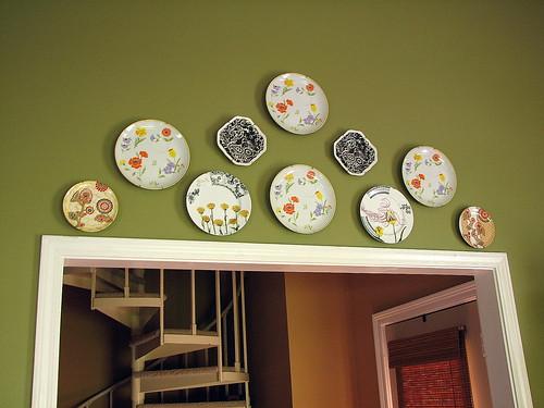 plates hung