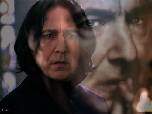 Snape sees Alan