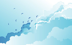 Cloud Birds (by Si Jobling)