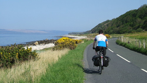 Cycling on Arran
