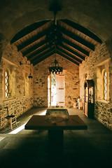 Chapel interior (macropoulos) Tags: film church topf25 cemetery 500v20f superia interior ch
