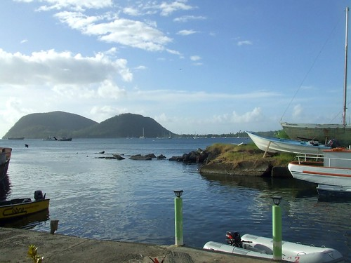 At the mouth of the river, Dominica