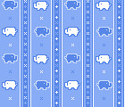 GIF elefante (super_ziper) Tags: blue elephant azul tile diy pattern handmade background crafts craft super gif bg elefante ziper padrao superziper