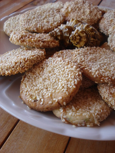 susamlı,fıstıklı kurabiye 001