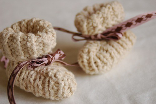 sweetest baby booties