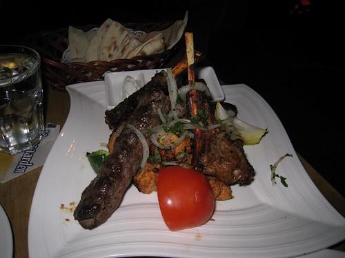Mixed Grill Platter @ Kazbar