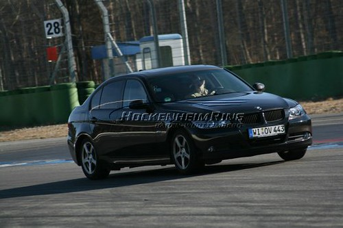 Chrissy Driving on Hockenheimring