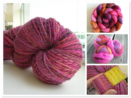 targhee sock yarn (by aswim in knits)