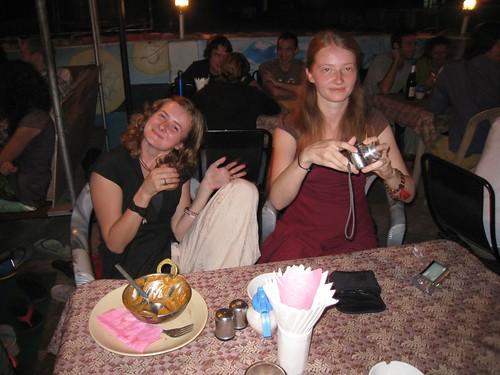 Sisters Anastasia and Olga (aka Ollie)