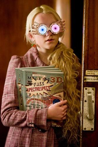 Luna Lovegood lentes 3D
