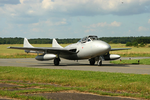 Warbird picture - DH-100 Vampire