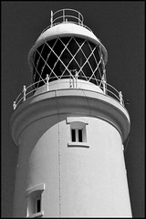 Light me up (Miaowlicious) Tags: windows blackandwhite lighthouse monochrome portlandbilllighthouse monochromia blackandwhitelighthouse lighthousewindows monochromelighthouse