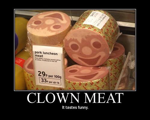 Clownmeatdemotivator
