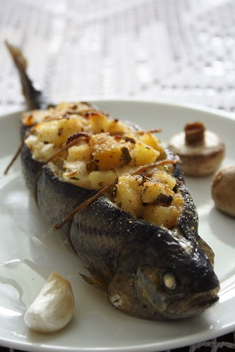 how to cook brown trout