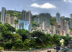 Living in Hong Kong (Stuck in Customs) Tags: hongkong hong kong city living green hills asians china chinese hilly landscape buildings trees nature civilisation cars motion day view look highway tall layout sharing asia asian amazing lovely emotions beautiful tutorial fans hdr photographer stuckincustoms pro nikon photography treyratcliff panorama details perspective shot shoot capture image photos picture edge angle lines work highquality composition processing treatment framing unique background best mostviewed