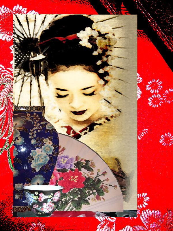GEISHA COLLAGE