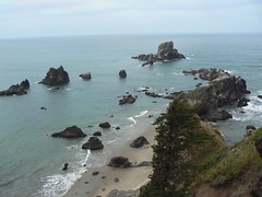 View from  Sea Lion Rocks overlook