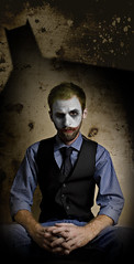 July 25th 2008 - Joker (Stephen Poff) Tags: portrait dark comic clown gothic makeup stephen batman joker dccomics poff thedarkknight 365days