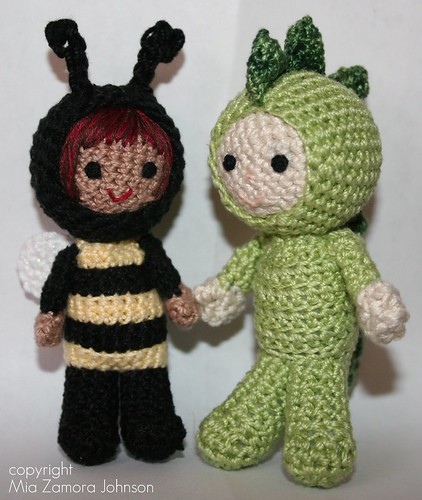 Size 3 Thread Crochet Luke & Alexa
