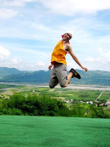 你拍攝的 6.台東鹿野高台 跳躍的JPing。
