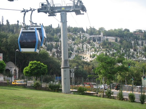 Cable car - jsut one of the many forms of public transport in ...