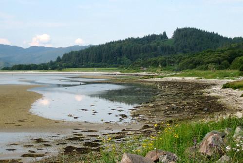 Loch Caolisport beach