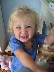 Crazy face!