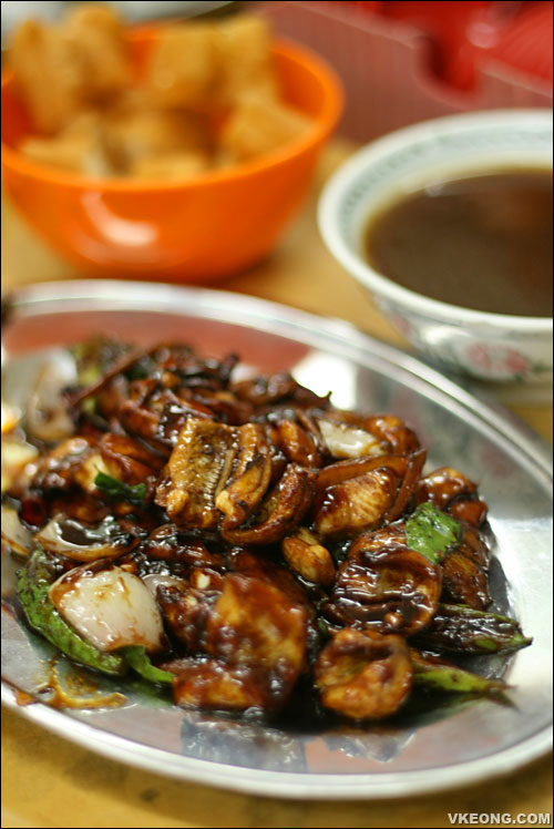 stir fried shark