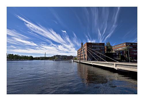 Hafen von Tampere (Finnland)