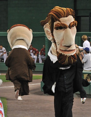 Washington Nationals Racing President Teddy Roosevelt Gives Up Lead to Chase Panther