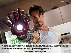 Robert Downey Jr. is a-ok with me.