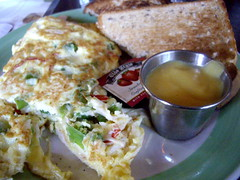 Crab and Asparagus Omelette from Melissa's