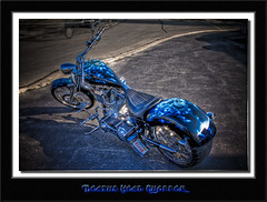 Deaths Head Chopper (hdrshooter) Tags: head hdr deaths custommotorcycle omot hollywoodmotors chopperphotomatixphotoshop