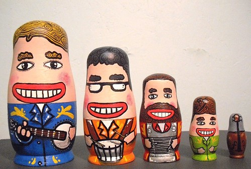 Sworn Enemies Nesting Dolls