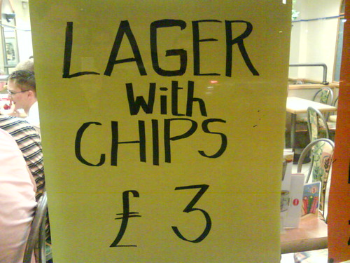 Lager & chips