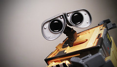 WALLE (Rob Boudon) Tags: cute toy eyes transformer pixar lenses waltdisney walle greywall walle gabriellehennessey wasteallocationloadlifterearthclass transformingwalle workingtodigyouout
