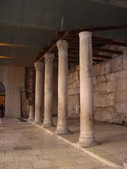The Cardo (upyernoz) Tags: israel ruins palestine jerusalem pillars   oldcity jewishquarter cardo