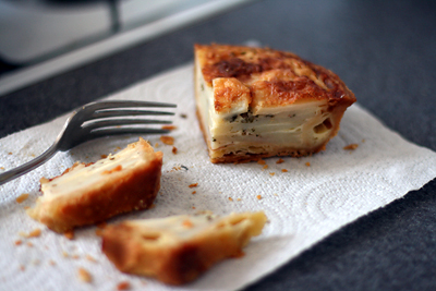 Potato and Parmesan Tart