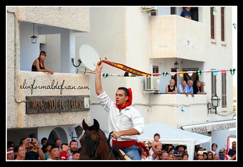 Carrera de cintas a caballo Mojacar