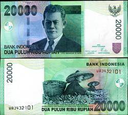 20.000 rupiah, Oto Iskandar Dinata & Pemetik Teh