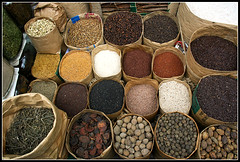 The Array of Spices [..Dhaka, Bangladesh..] (Catch the dream) Tags: street food fruits circle colorful natural market herbs sale spices condiments spicy dhaka grains bazaar roadside sales bengal bangladesh herb herbal variation bazar bangla array bajar treatment bengali packets bangladeshi packs varities mywinners kaptanbazar gmaut gettyimagesbangladeshq2